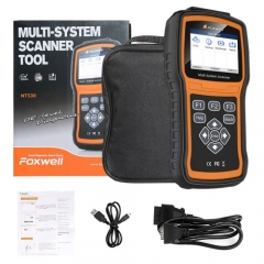 Foxwell NT530 BMW Full System Scanner with SRS, ABS, EPB, Oil Reset, DPF, SAS and Battery Registration Support Latest BMW 2018/2019 & F Chassis