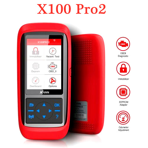 New XTOOL X100 Pro OBD2 Auto Key Programmer/Mileage adjustment Including EEPROM Code Reader with Free Update
