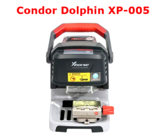 V1.2.1 Xhorse Condor Dolphin XP005 Key Cutting Machine based on Mobile Phone English Version with Built-in Battery