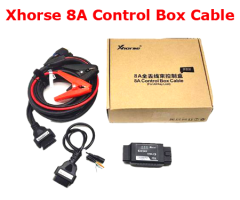 (Pre-order) Xhorse Toyota 8A Non-Smart Key Control Box Cable All Keys Lost Adapter