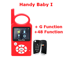 JMD Handy Baby1 With G Function And 48 96 Bit Function Auto Key Programmer For 4D/46/48/Red/King Chip CBAY Chip Multi-Language