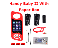 JMD Handy Baby 2 II Key Programmer Hand-held Car Key Copy Key Programmer for 4D/46/48 Chips With Paper Box