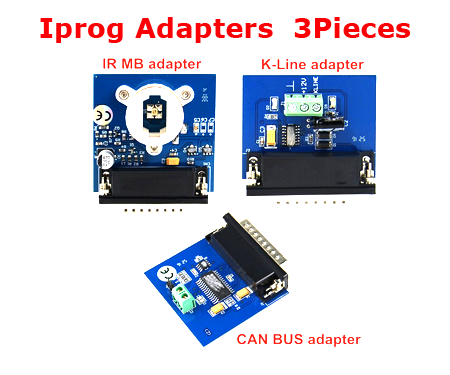 2019 Newest  Iprog IPROG+ IR MB +CAN BUS +K-LINE adapter For IPROG+ IProg Pro Programmer