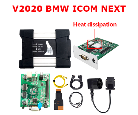 V2018.12 ICOM Next For BMW ICOM A2 Following An A + B + C + Professional ICOM A2 Diagnostic Programmer With Heat Dissipation Include HDD