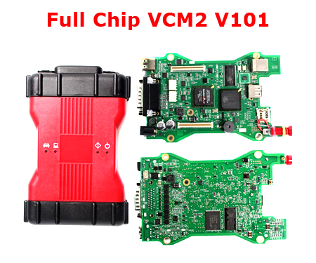Chip VCM 2 For VCM II Ids Obd2 Scann Tool Vcm2 V101 Car Diagnostic Tool Carton Or Plastic Box