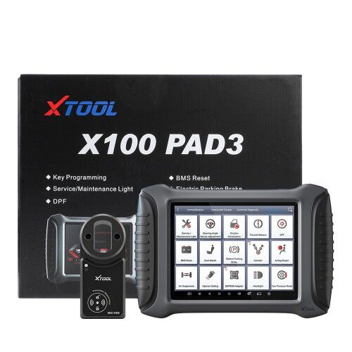 New Arrival 2020 XTOOL X100 PAD3 X100 PADIII Professional Tablet Key Programmer With KC100